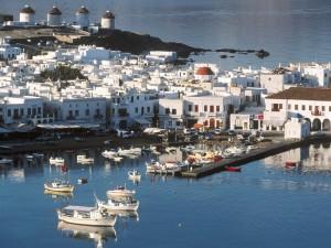 Puerto de Mykonos (Grecia)