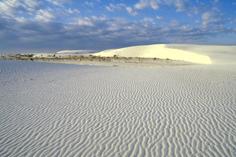Nubes sobre el desierto