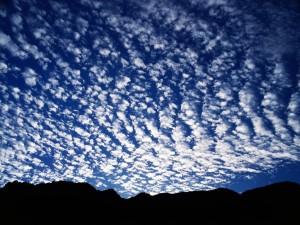 Extrañas nubes en el cielo