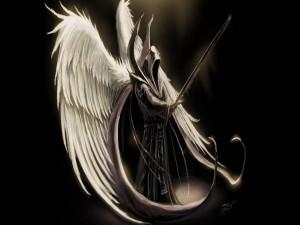 Ángel con una espada
