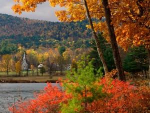 Otoño en Eaton (Nuevo Hampshire)
