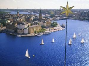 Regata en Estocolmo (Suecia)
