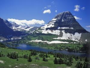 Lago Hidden (Parque Nacional de los Glaciares, Montana)