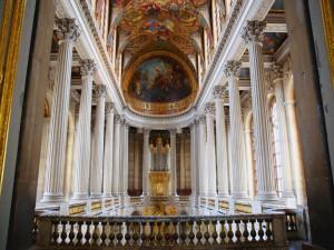 Interior de un capilla