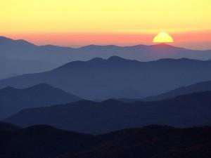 Sol al amanecer