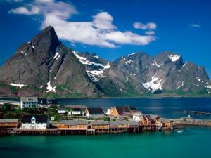 Sakrisoy (Islas Lofoten, Noruega)