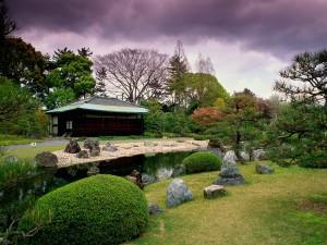 Jardines del Castillo de Nijō (Japón)