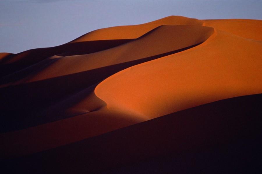 Desierto de arena