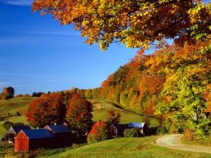 Bonito otoño en Vermont