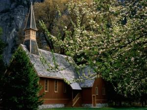 Iglesia en Yosemite