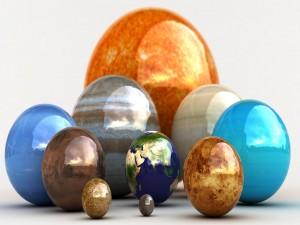 Planetas en 3D