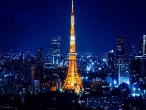 Torre de Tokio en la noche