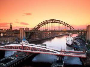 Puentes sobre el río Tyne (Newcastle upon Tyne, Inglaterra)