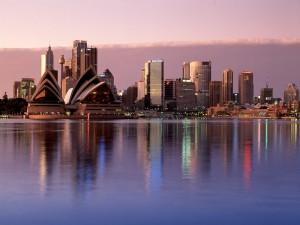 Vista de Sídney (Australia)