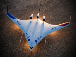 Un Boeing Phantom X-48B