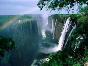 Cataratas Victoria (río Zambeze)