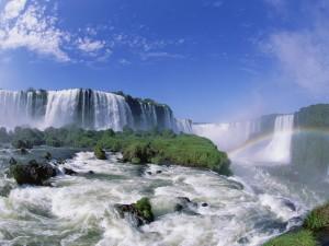 Bonito día en las cataratas del Iguazú