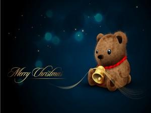 Una bonita felicitación de Navidad