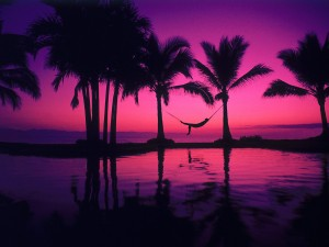 De relax en la playa