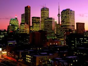 Amanece en Toronto