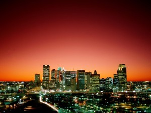Amanece en Dallas (Texas)