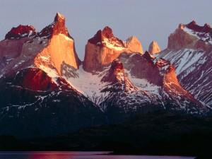 Los cuernos del Paine (Chile)