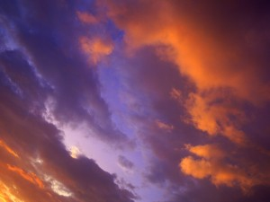 Cielo iluminado