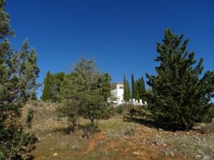 Vista del parque forestal La Atalaya (Ciudad Real)