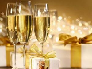 Champán para Navidad