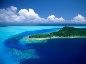 Isla en Bora Bora