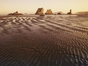 Formación rocosa en la costa Bandon (Oregón)