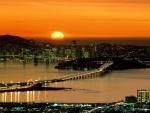 Bonito amanecer en San Francisco (California)