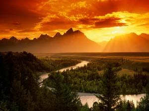 Río Snake (Parque Nacional Grand Teton)