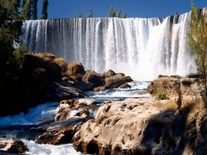 Salto del Laja (río Laja, Chile)