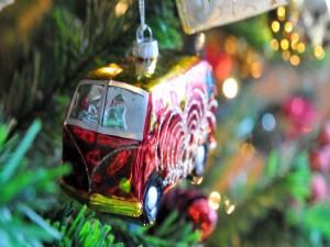 Figura en el árbol de Navidad