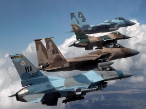 Aviones de combate estadounidenses