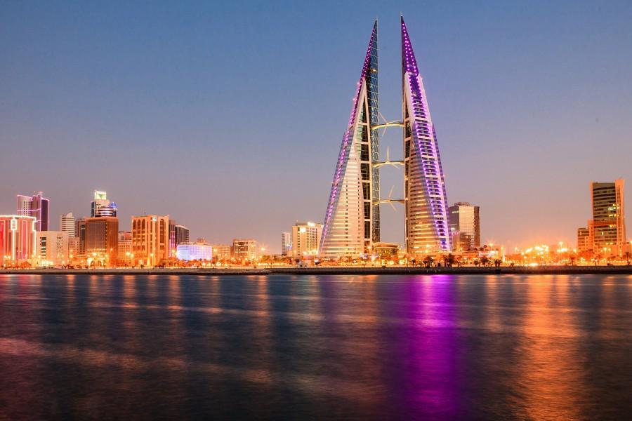 Bahrein al amanecer
