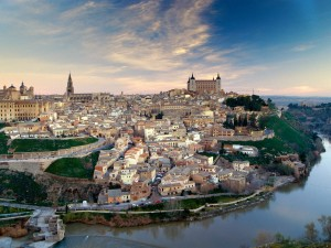 Vista de la ciudad de Toledo (España)