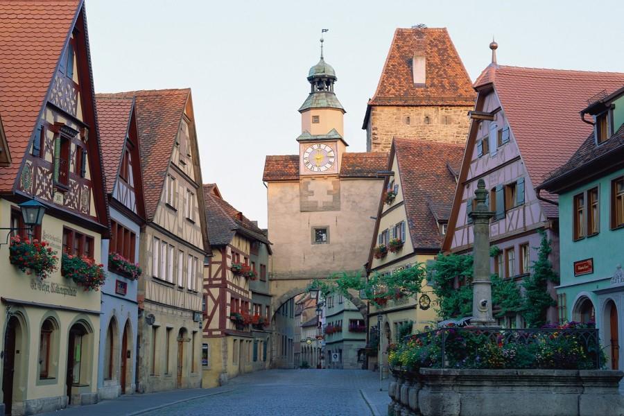 Rothenburg ob der Tauber (Baviera, Alemania)