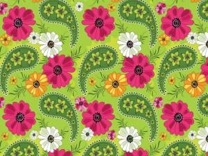 Cachemir floral