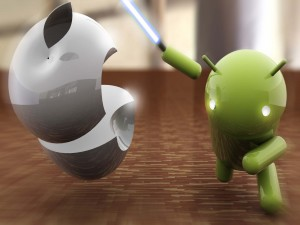 Apple contra Android