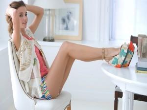 La bella modelo Miranda Kerr