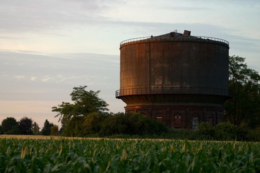 Antigua torre de agua