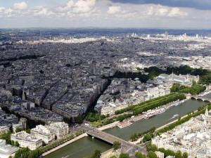 Panorama de una gran ciudad
