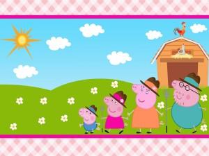 Un día en la granja con Peppa Pig