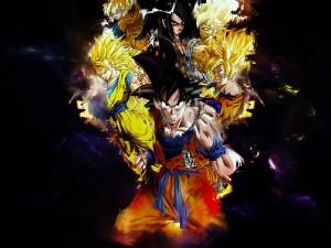 Goku y compañía