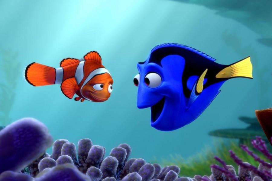Marlin y Dori (Buscando a Nemo)