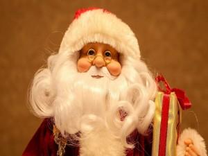 Papá Noel con regalos