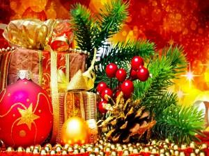 Adornos decorativos para las próximas fiestas