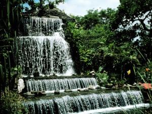 Cascada en Manila (Filipinas)